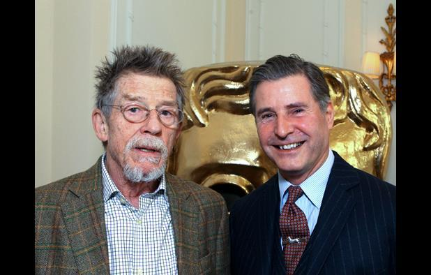 John Hurt and Jeremy Hackett